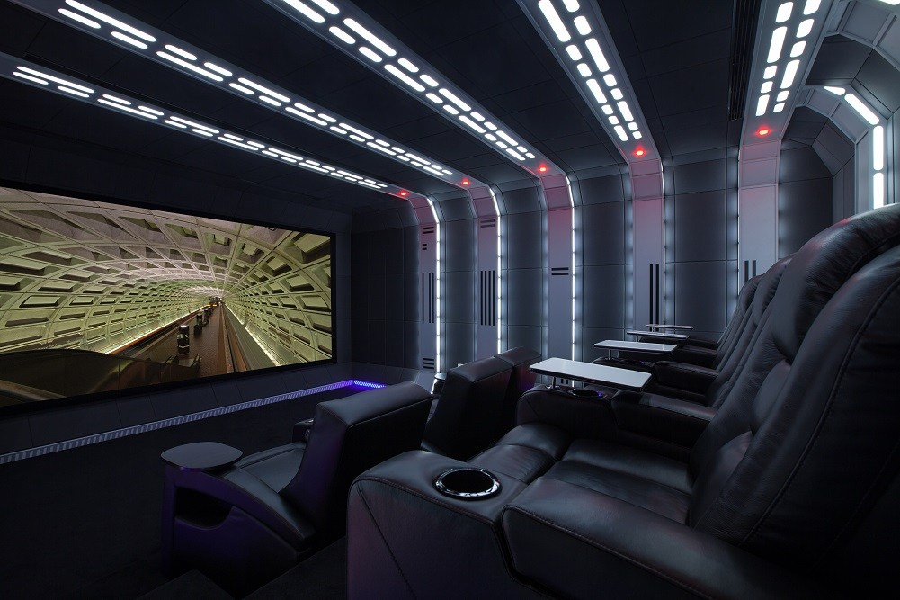 Home cinema in Star Wars-thema