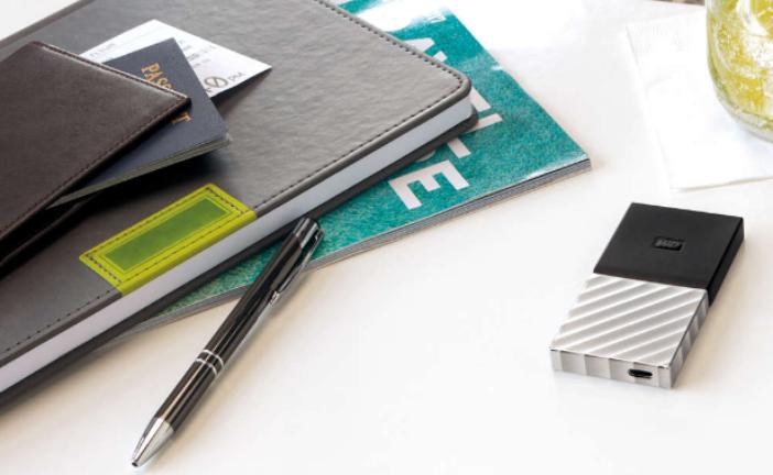 Western Digital met eerste externe SSD schijf