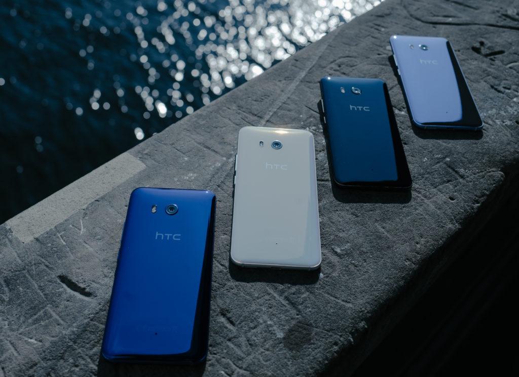 HTC U11 smartphone in 4 kleuren