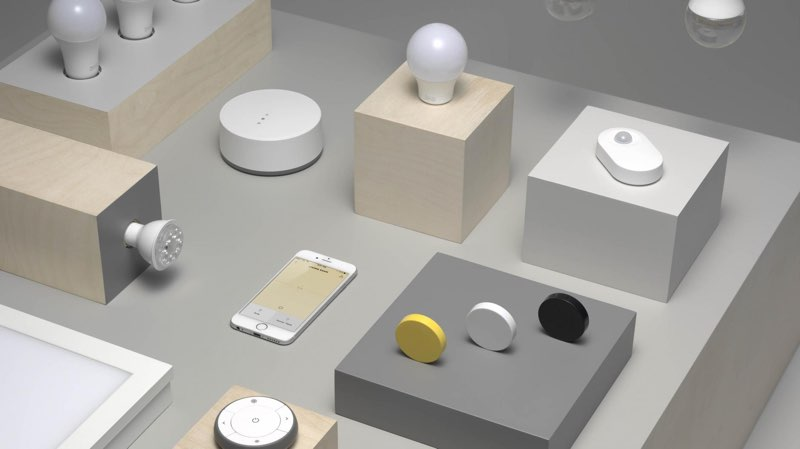 slimme ledlampen ikea werken binnenkort met apple homekit. Black Bedroom Furniture Sets. Home Design Ideas