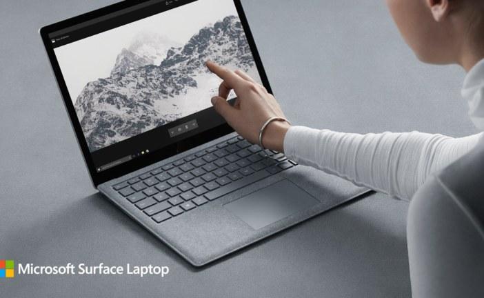 Opvallend traditioneel: de Surface Laptop van Microsoft