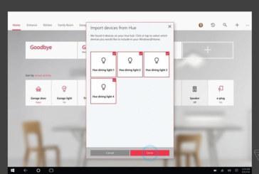 Microsoft HomeHub: eerste beelden van smart home-functie in Windows 10