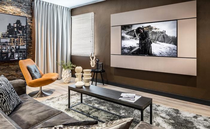 Architect Frame van Bowers & Wilkins laat grote televisies en audio één worden
