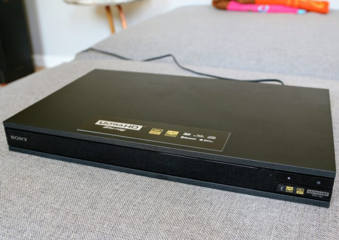 Sony UBP-X800 Ultra HD Blu-ray speler