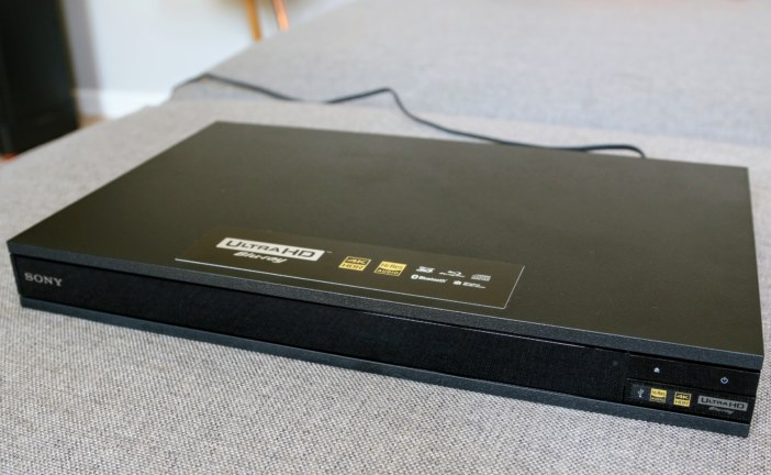 Review: Sony UBP-X800 Ultra HD Blu-ray speler