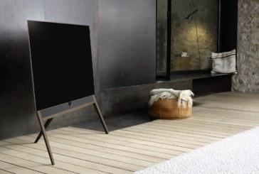 Loewe bild 5 OLED televisie: knap retro design