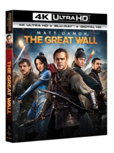 The Great Wall film review Blu-ray 4K