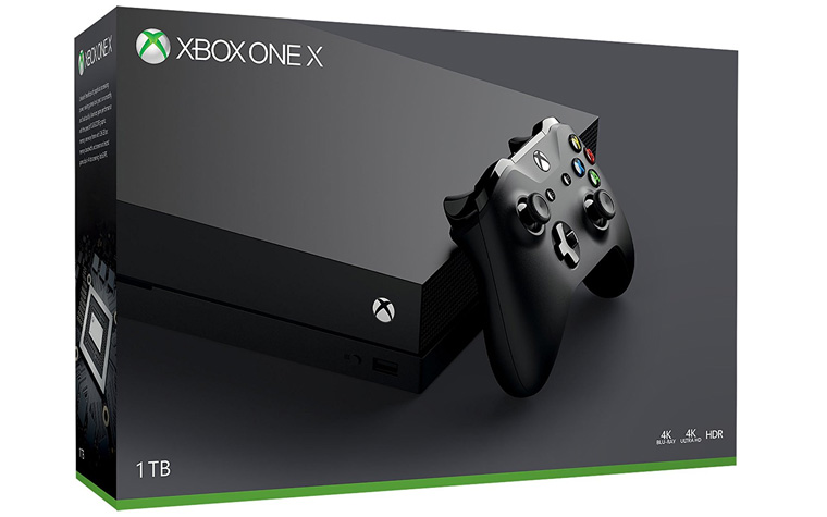 Xbox One X te koop in november voor 499 euro