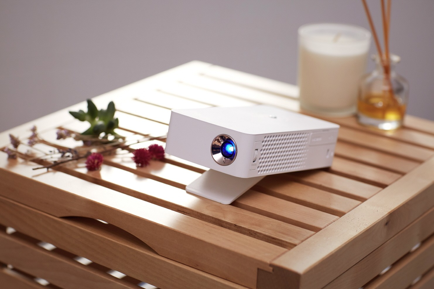 LG MiniBeam home cinema projector