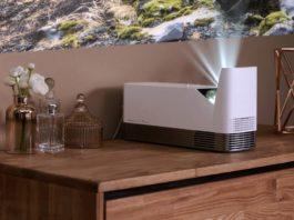 LG ProBeam UST (Ultra Short-Throw) laser projector