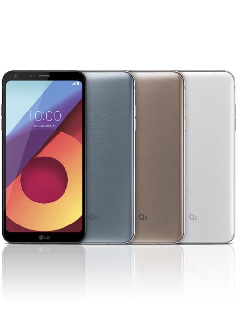 LG Q6 smartphone