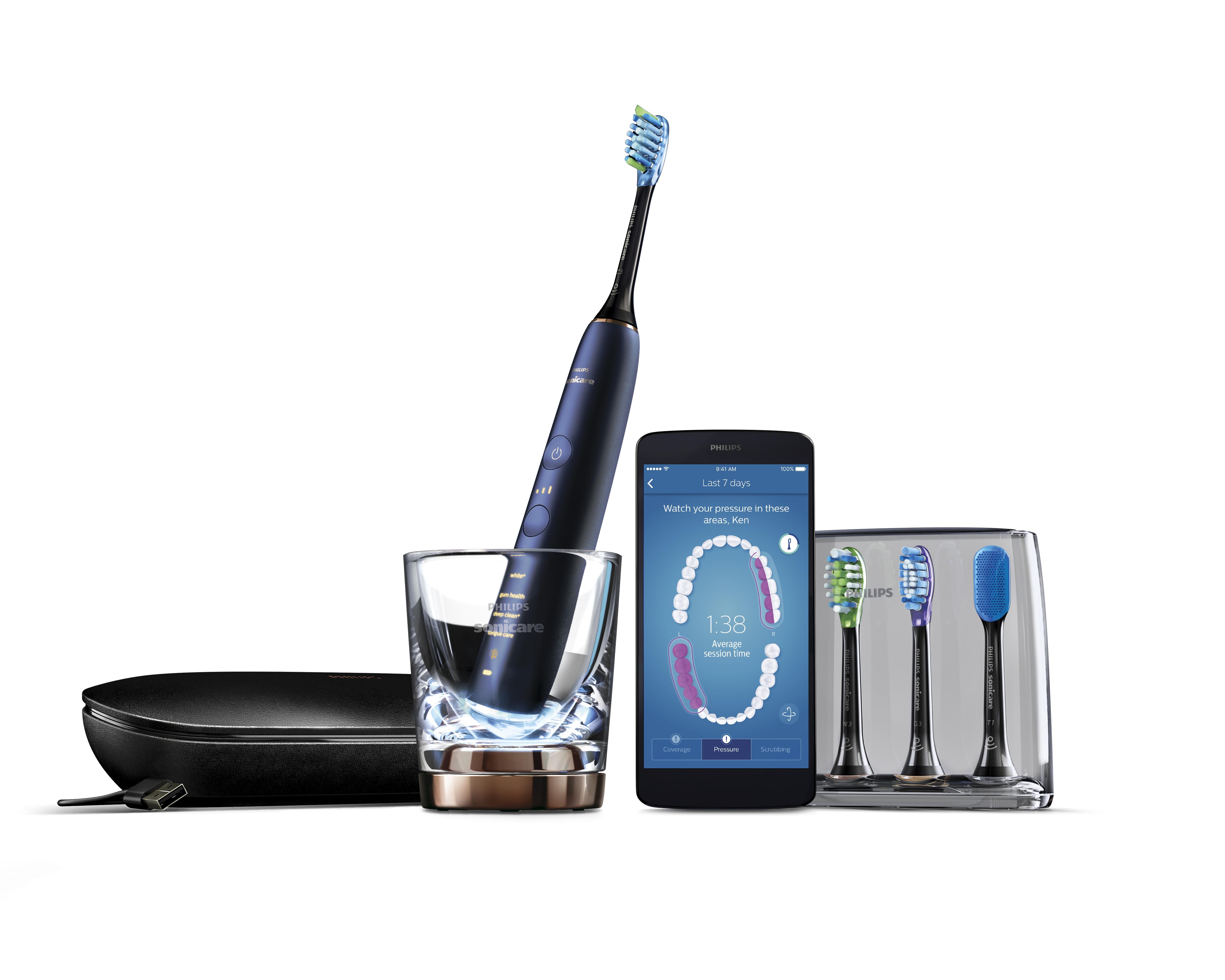 Persoonlijk poetsadvies met nieuwste slimme tandenborstel van Philips