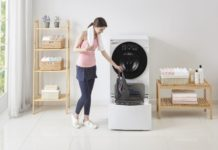 LG Twin Wash wasmachine