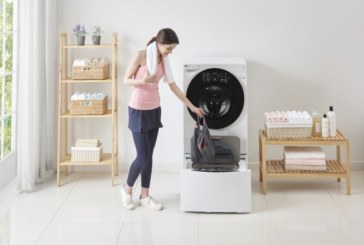 Dubbele en slimme wasmachine LG nu verkrijgbaar in België