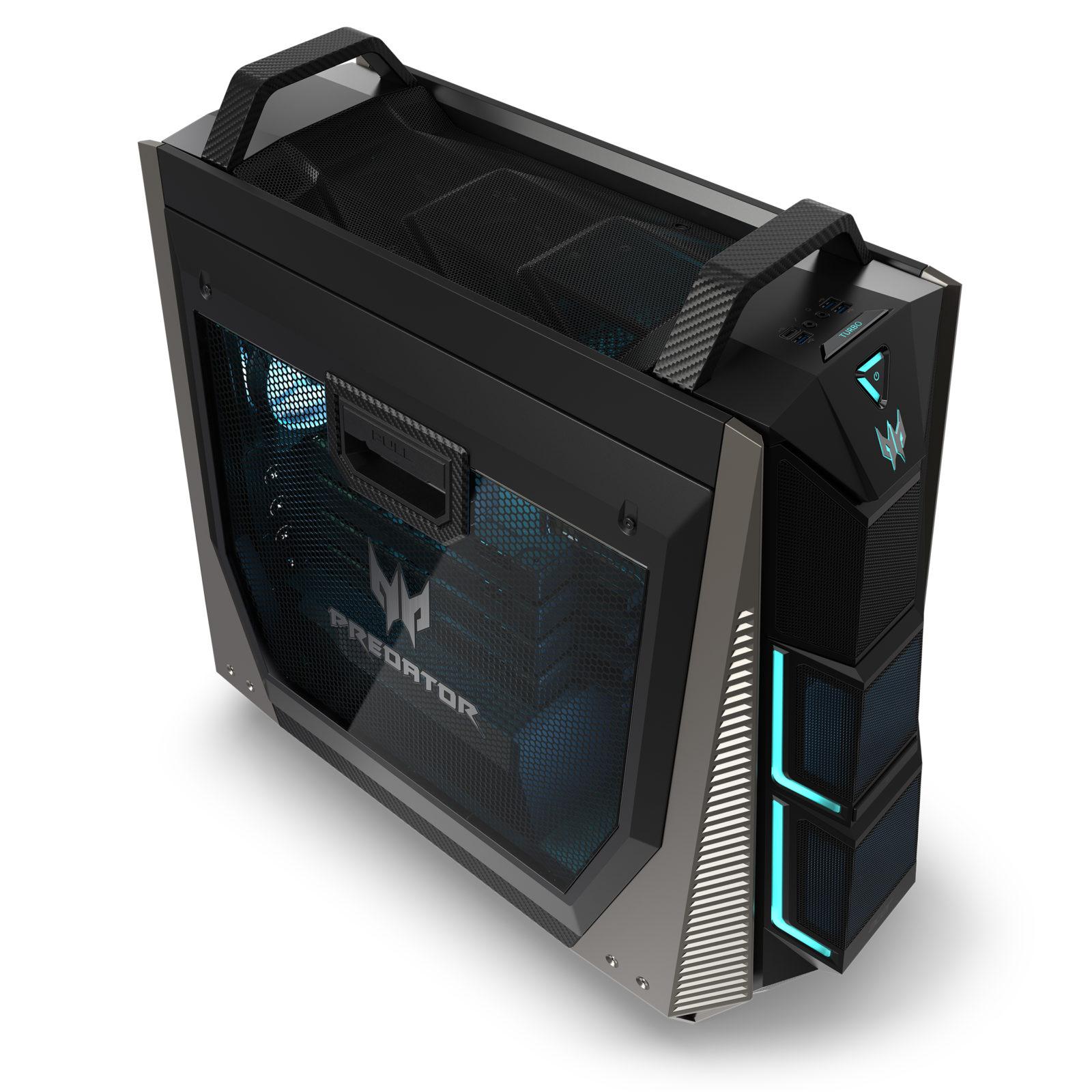Stevige gamingcomputer bij Acer