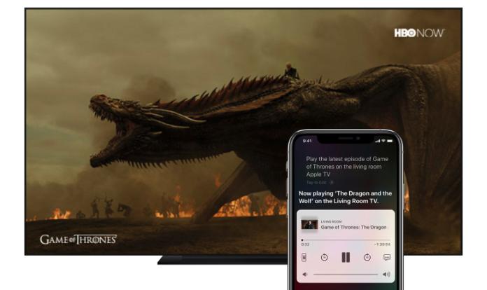 Apple AirPlay 2 op tv