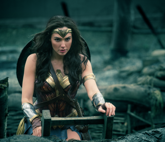 Wonder Woman film review Blu-ray 4K UHD