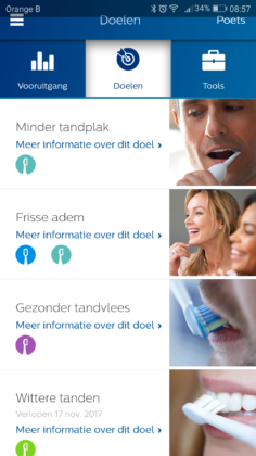 Philips DiamondClean Smart 9700 elektrische tandenborstel