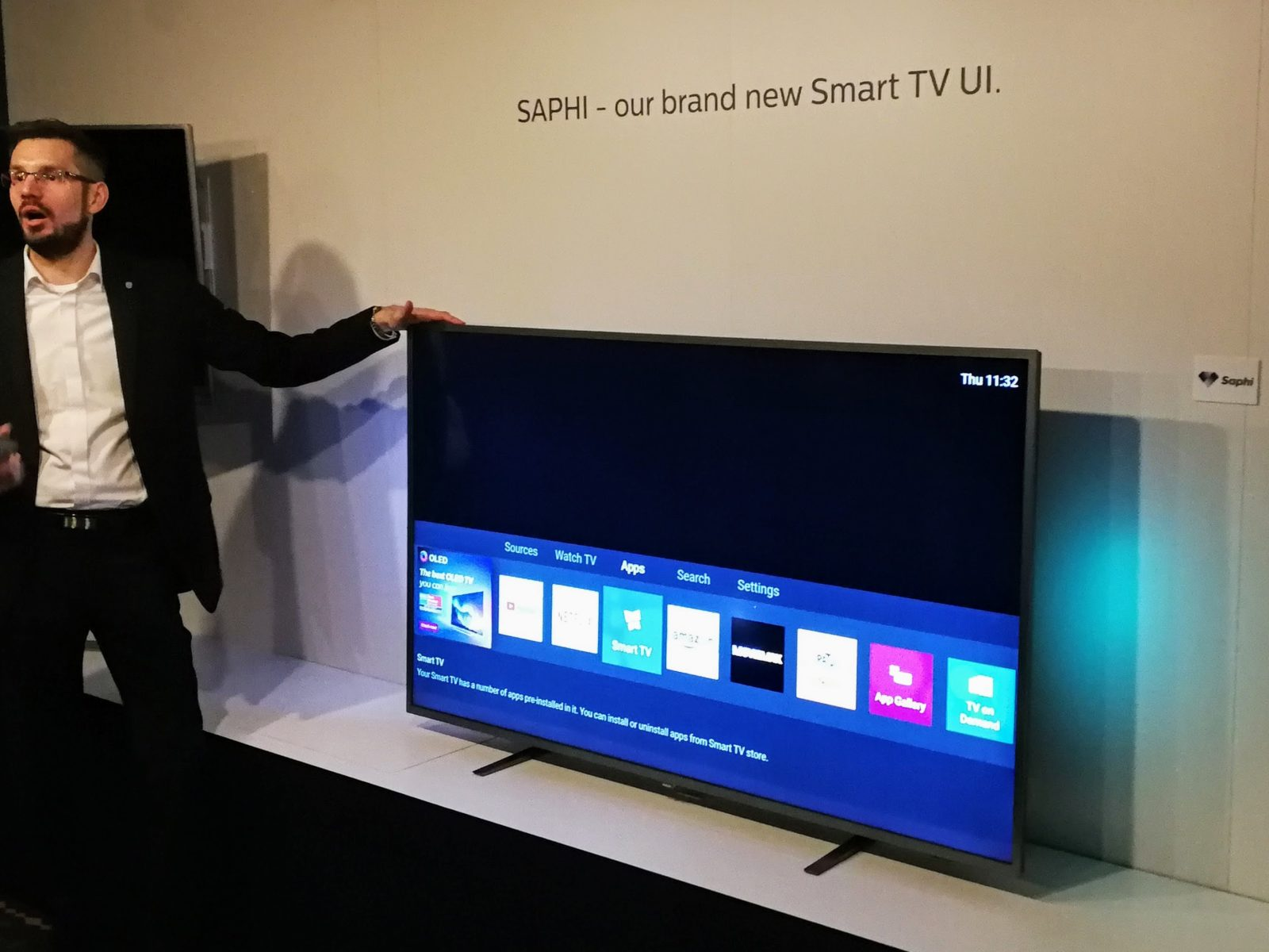 Philips TV 2018 Saphi smart tv