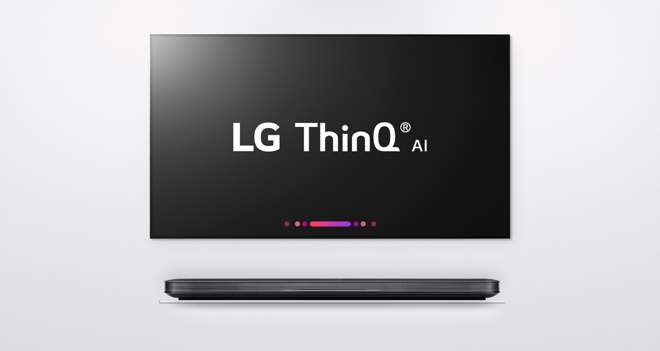 LG W8 ThinQ AI OLED tv