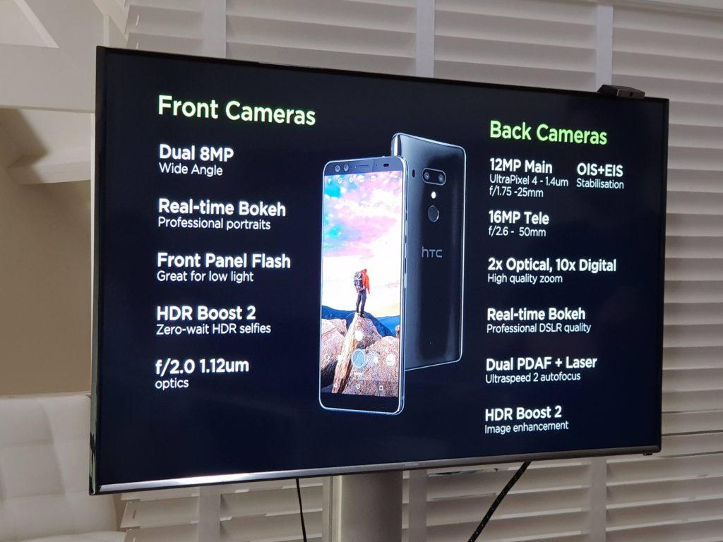 HTC U12+ camera