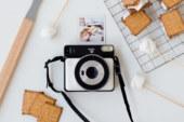 Fujifilm met volledige vierkante, analoge instantcamera