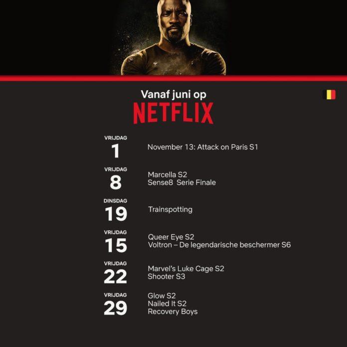 Netflix Juni 2018