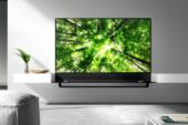 Elegant tv-meubel voor de W8 oled-tv van LG