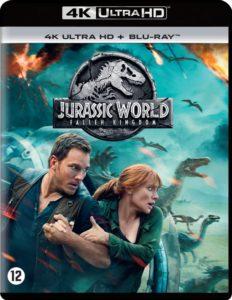 Jurassic World Fallen Kingdom UHD Blu-ray