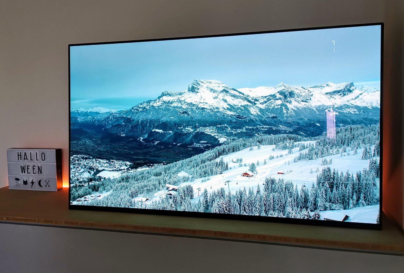 review sony af9 oled televisie met dolby vision