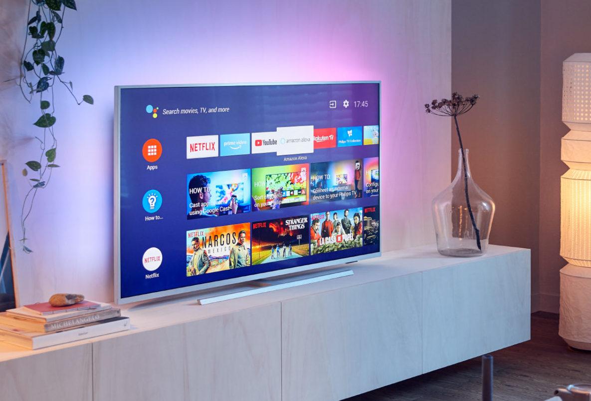 Android TV op de PUS7304