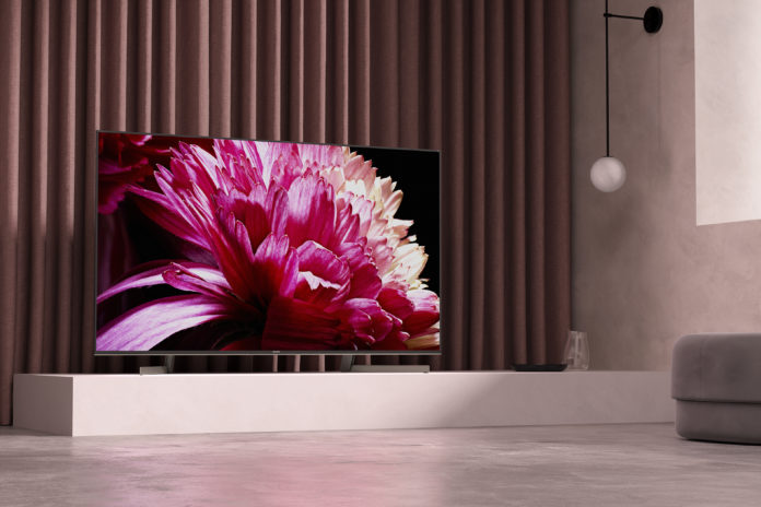 Sony XG95 LED tv