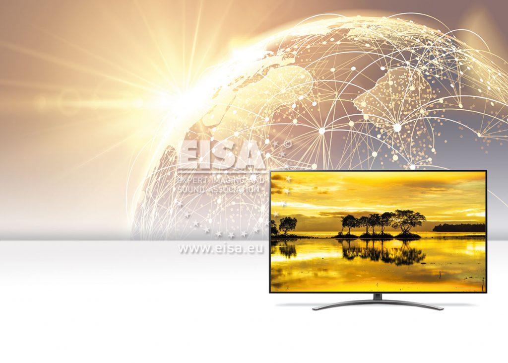 LG 65SM9010 EISA award 2019-2020