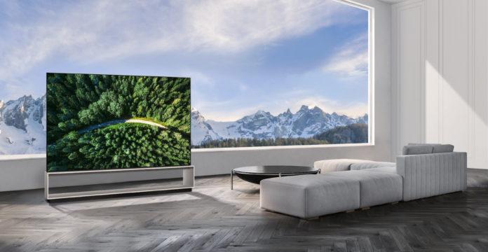 LG 8K OLED tv 88Z9