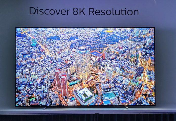Philips 8K OLED TV