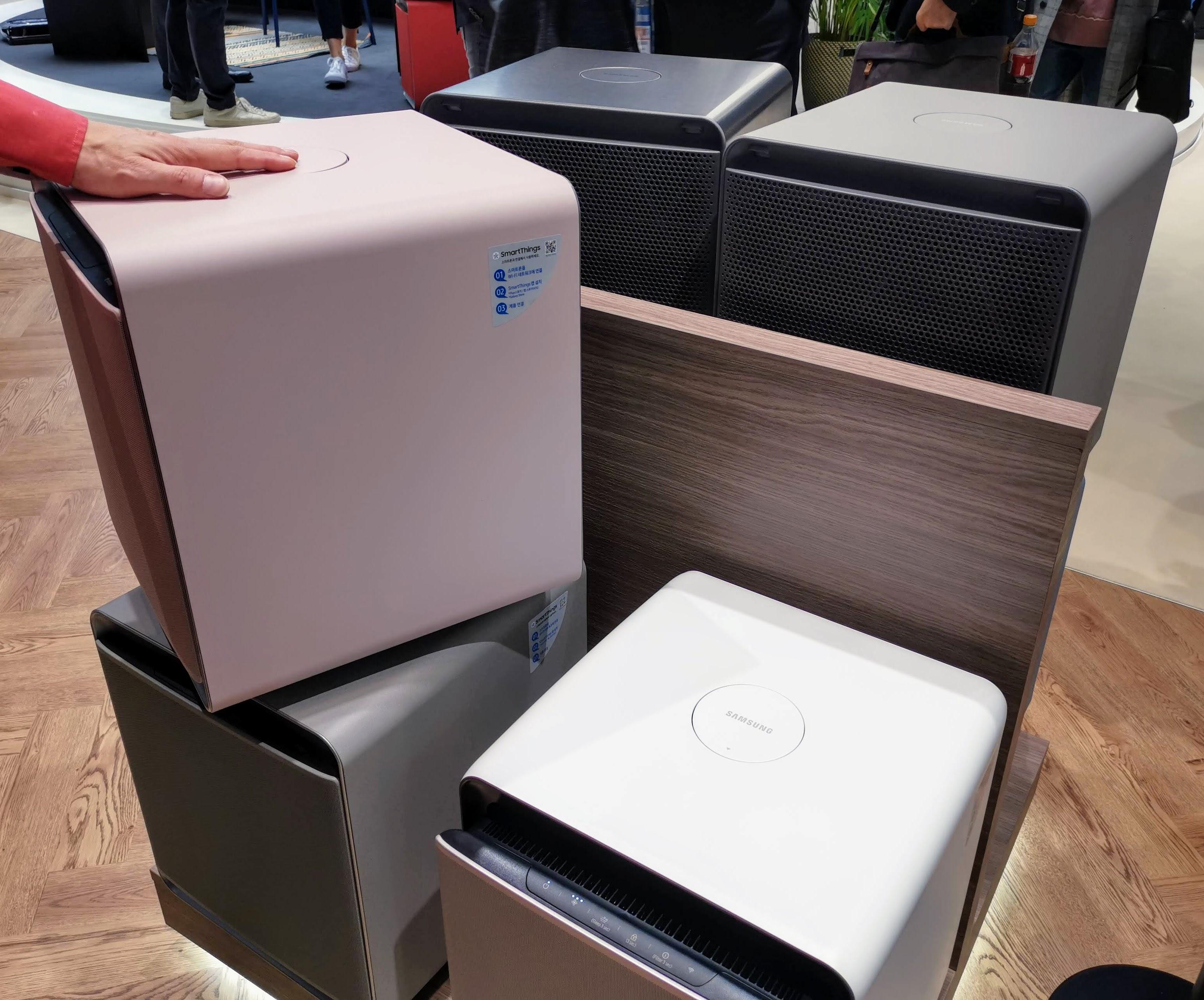 Samsung Cube luchtreiniger