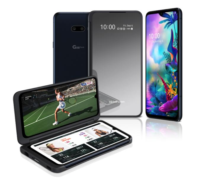 LG G8X ThinQ smartphone met dubbel scherm
