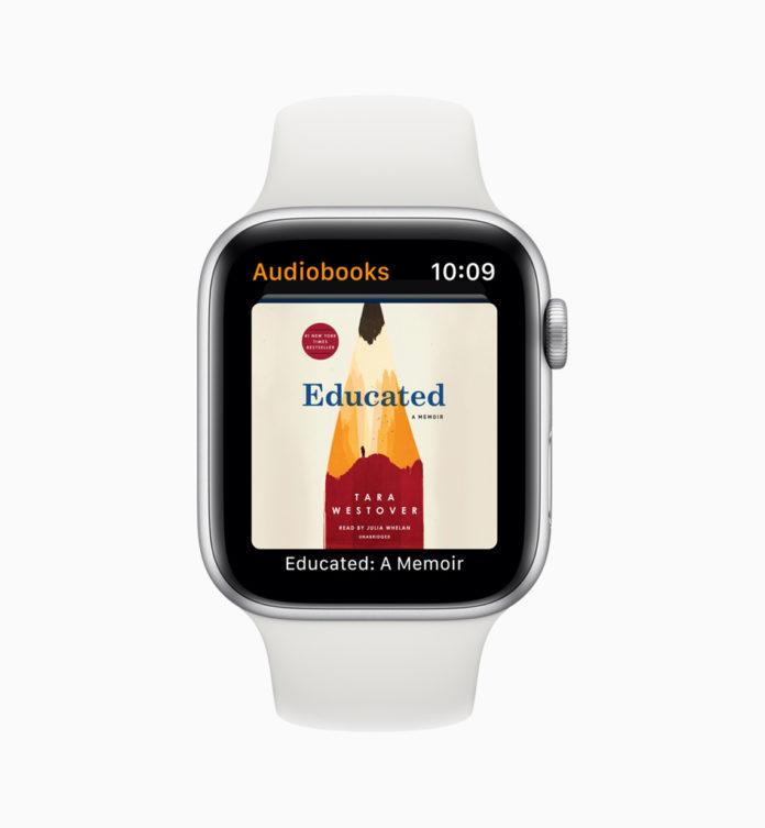 watchOS 6 audioboeken
