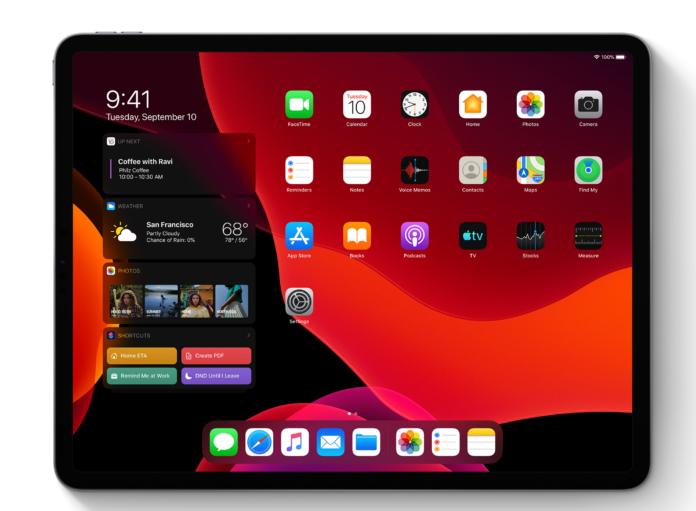 iPad-OS-widgets-startscherm