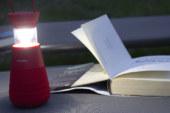 Lighthouse is draagbare speaker met uitschuifbare lantaarnlamp