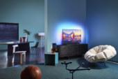 Philips TV toont nieuwe led televisies voor 2020