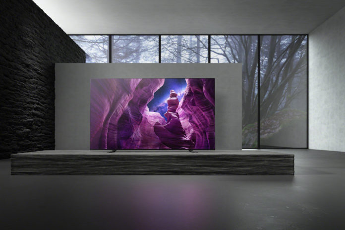 Sony A8 oled tv 2020