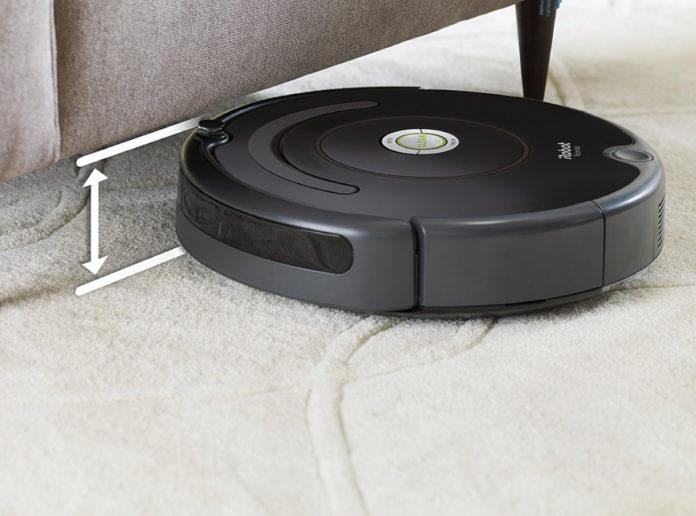 Robotstofzuiger onder meubels