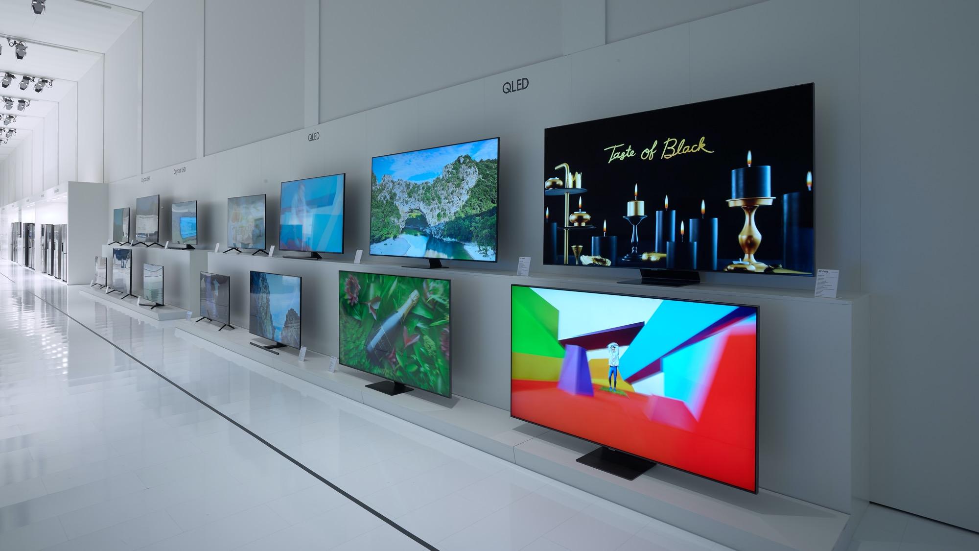Samsung 4K QLED 2020 tv