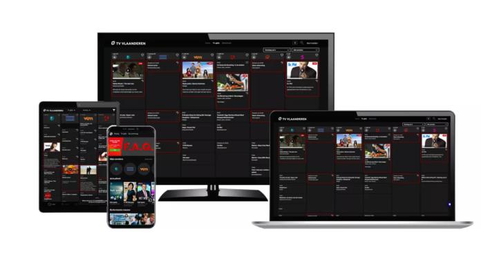 APP TV van TV Vlaanderen tv-kijken via app