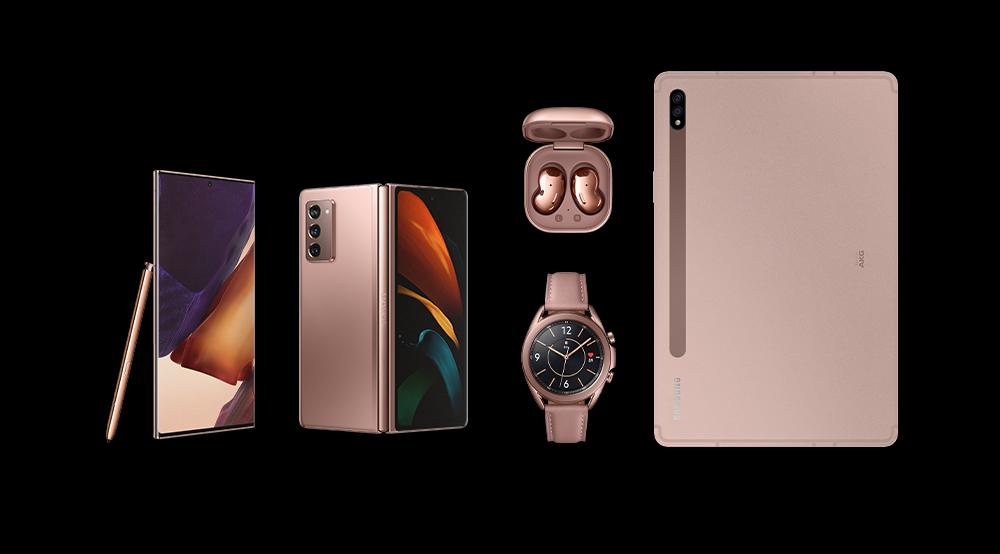 Vijf nieuwe Samsung gadgets op Galaxy Unpacked-event
