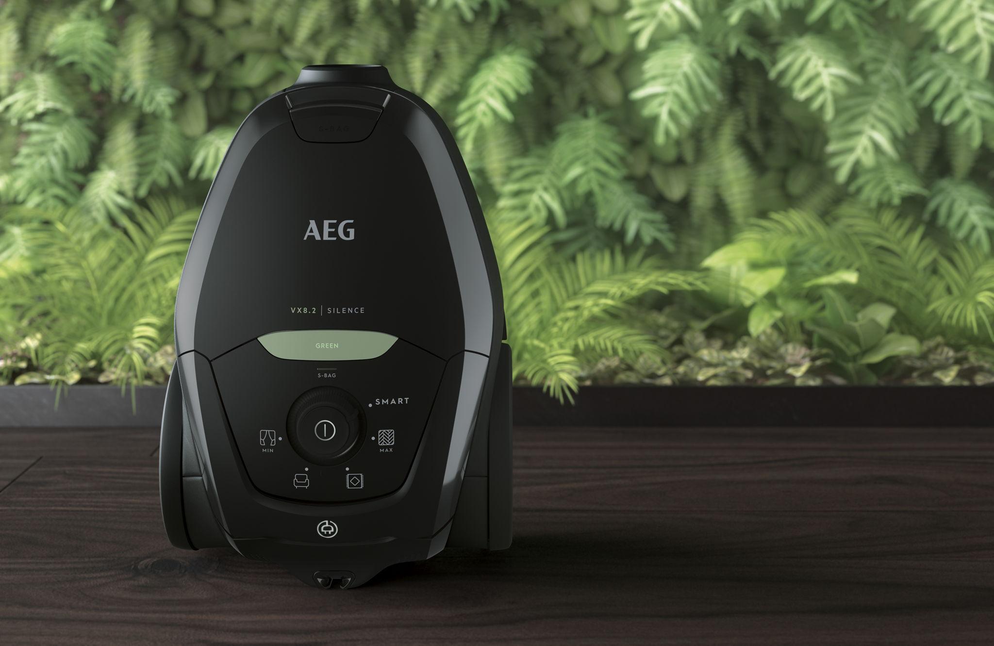 AEG brengt stofzuiger uit 100% gerecycleerde en hergebruikte materialen uit