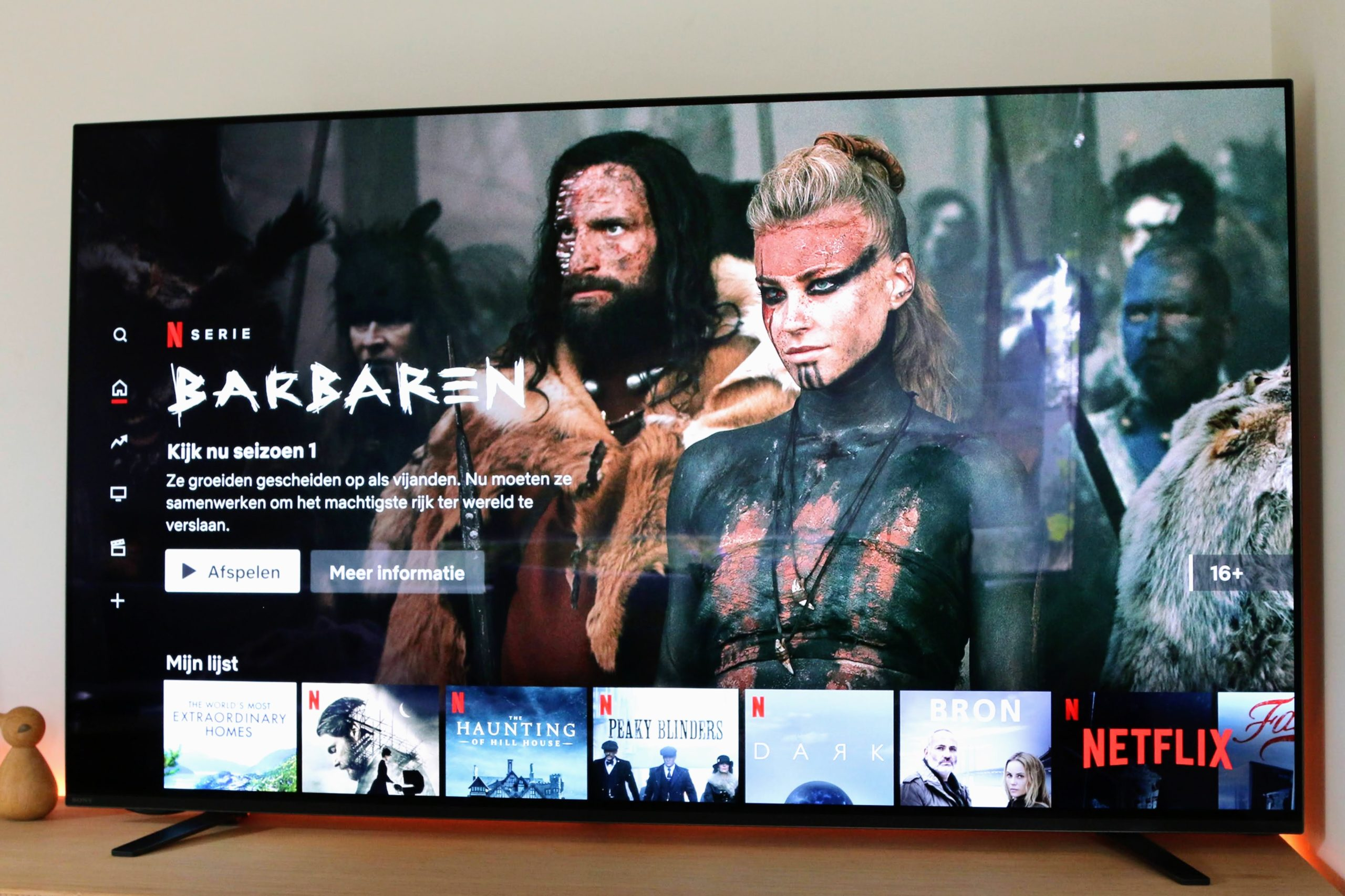 Review Sony A8 4K oled tv