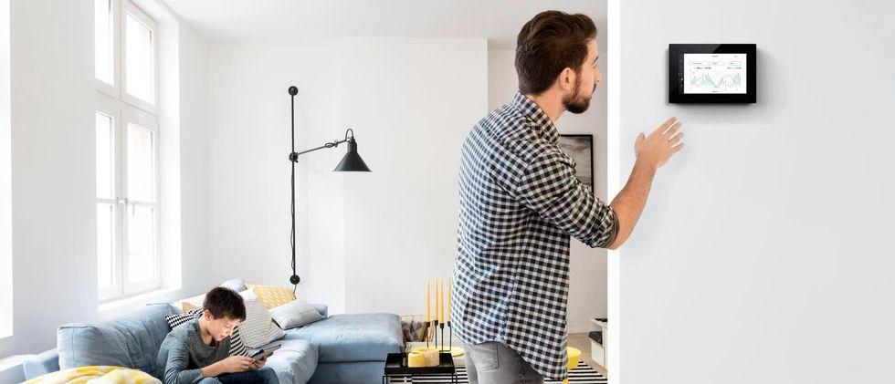 Niko Home Control zorgt voor efficiënt elektriciteitsverbruik en automatiseert zelfconsumptie