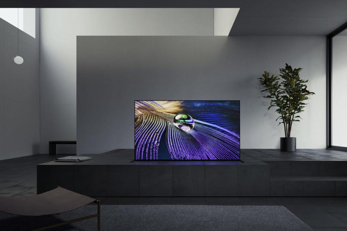 Sony BRAVIA XR MASTER-serie A90J OLED 4K HDR tv's beschikbaar vanaf april